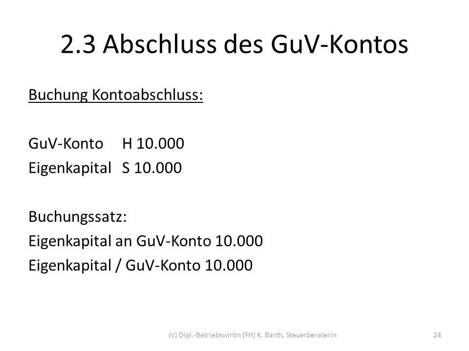 3.Exkurs: Eröffnungsbilanz eines Unternehmens Beispiel: U macht sich zum 18.12.2011 selbständig.