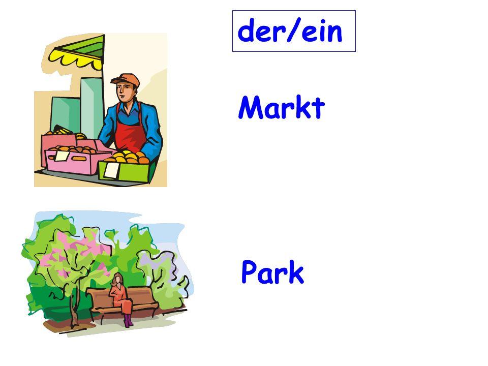 Markt Park der/ein
