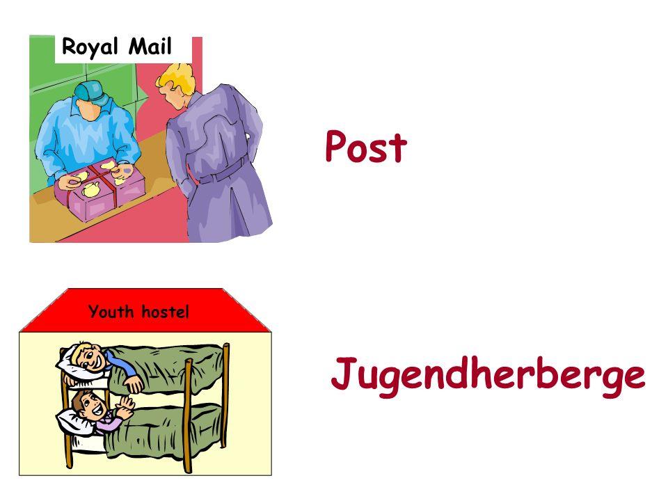 Royal Mail Youth hostel Post Jugendherberge