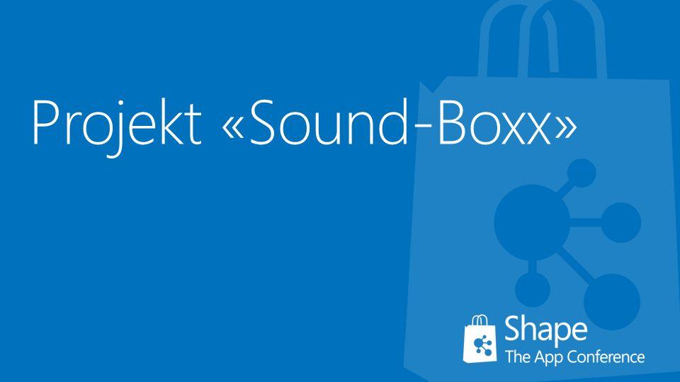 Projekt «Sound-Boxx»