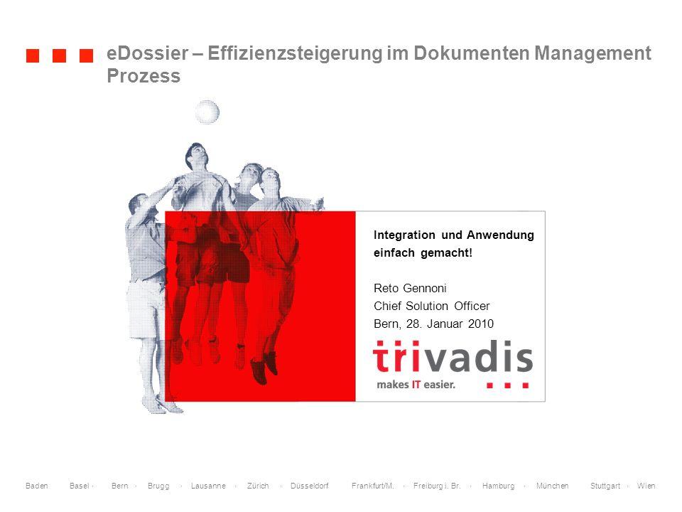 © 2009 Welche Bedeutung hat eDossier aktuell im Vergleich zu anderen IT Themen.
