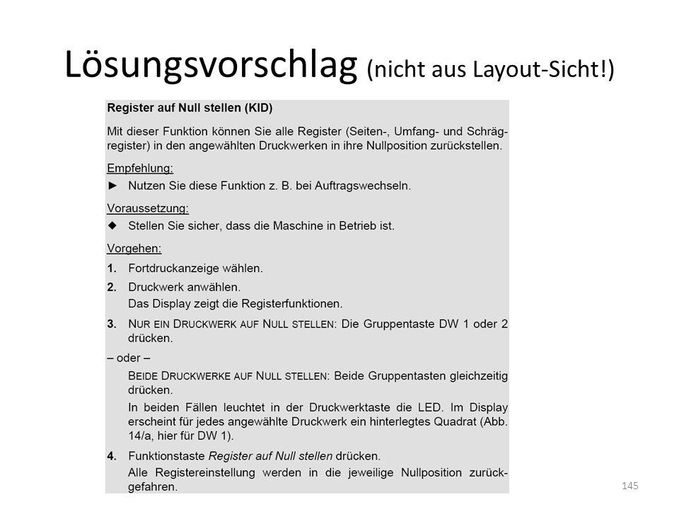 Lösungsvorschlag (nicht aus Layout-Sicht!) SS 2011, R. Schmidt145