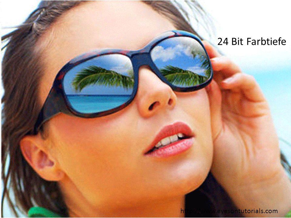 SS 2011, R. Schmidt159 24 Bit Farbtiefe http://www.eyesontutorials.com