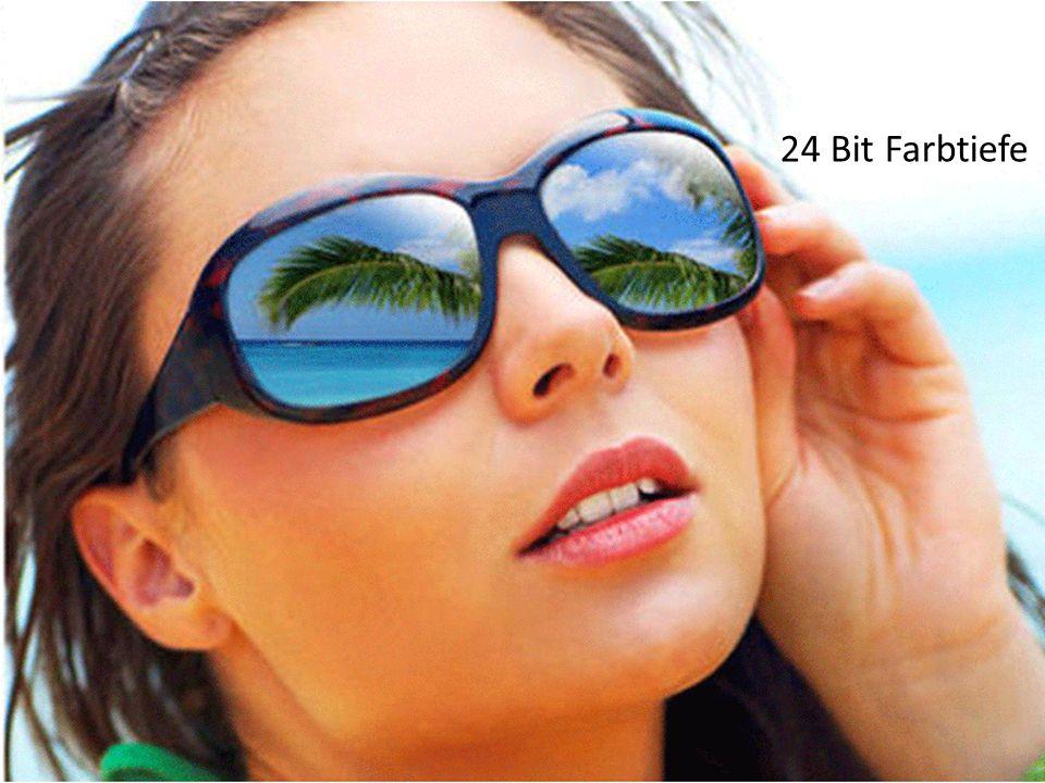 SS 2011, R. Schmidt162 24 Bit Farbtiefe