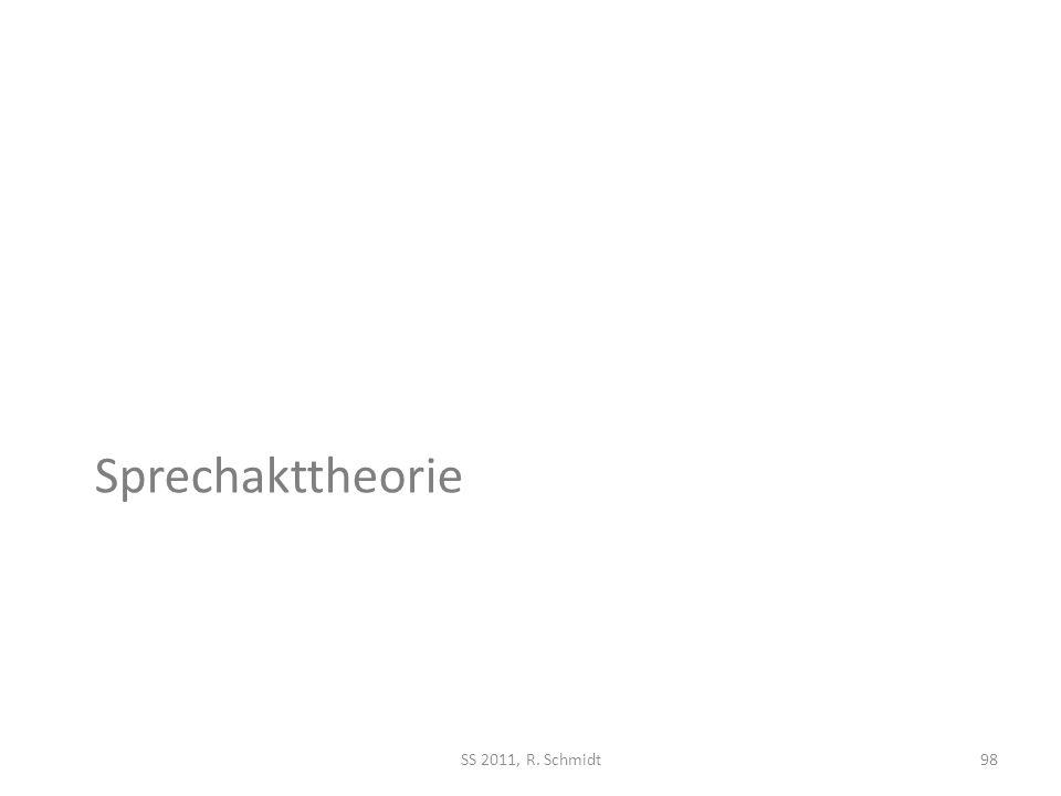 Sprechakttheorie SS 2011, R. Schmidt98