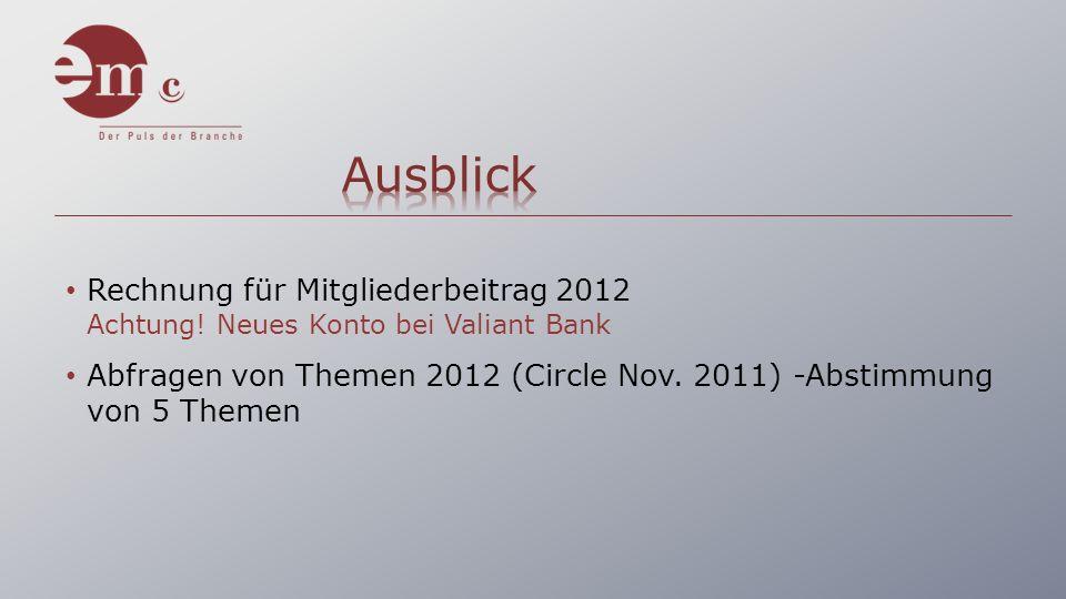 Rechnung für Mitgliederbeitrag 2012 Achtung.