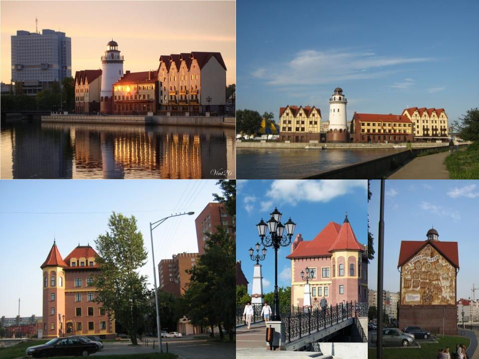 Das Fischdorf – ist das historische Stadtzentrum. (Es wurde zum Jubilaeum gebaut.) Es sieht wie das deutsche Fischdorf aus.
