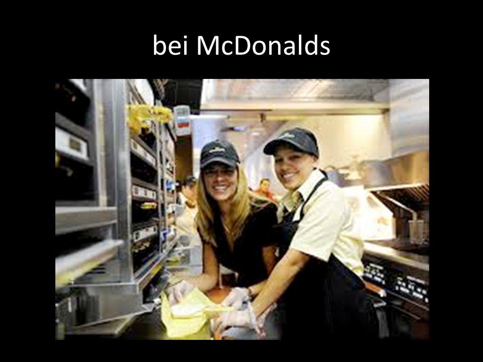 bei McDonalds