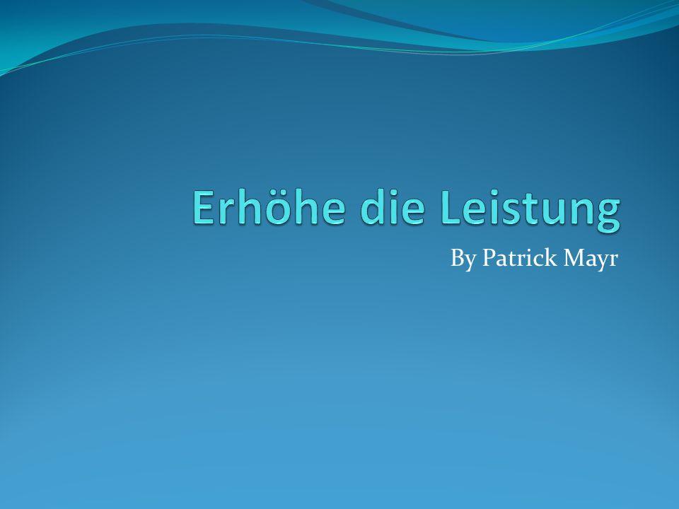 By Patrick Mayr
