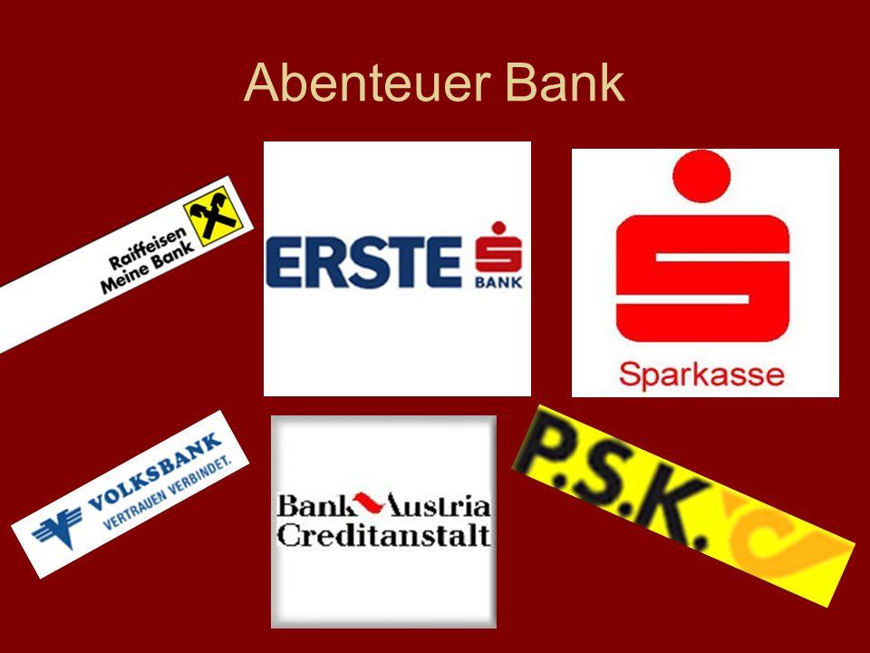Abenteuer Bank
