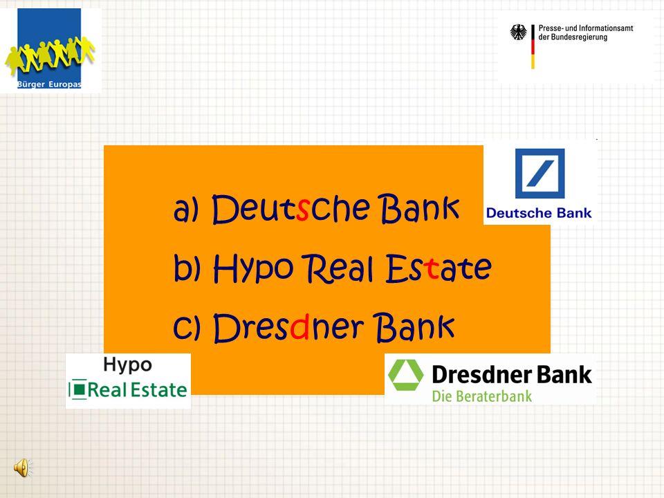 4. Welches deutsche Gesetz kann Banken bei finanziellen Engpässen helfen?