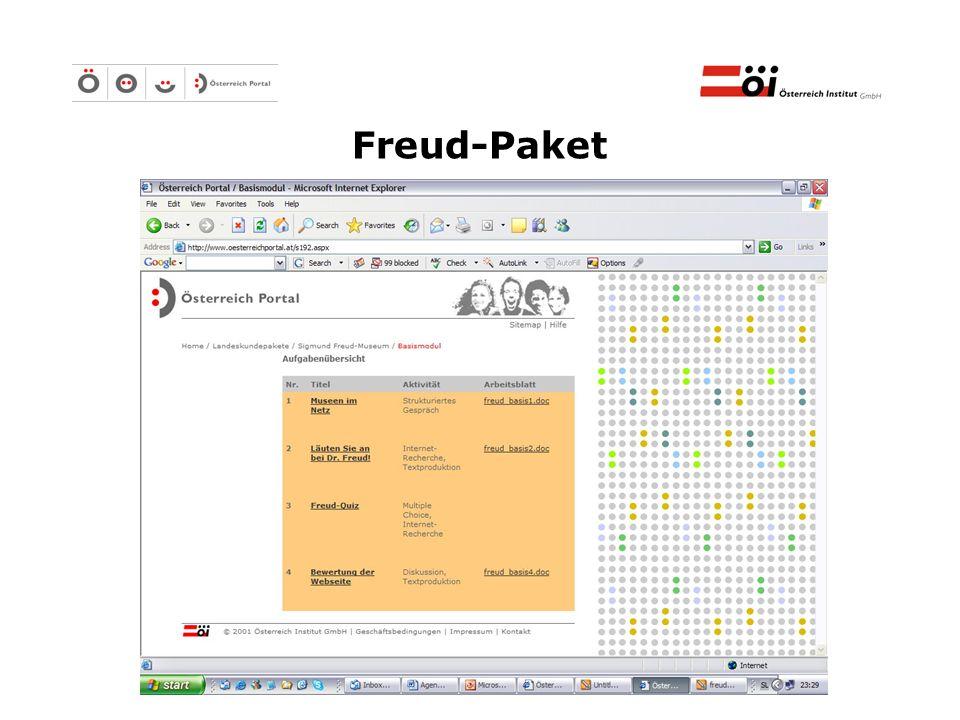 Österreich Institut GmbH Freud-Paket