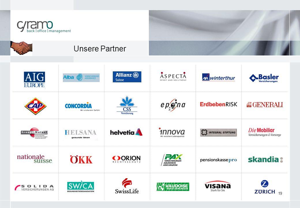 19 Unsere Partner