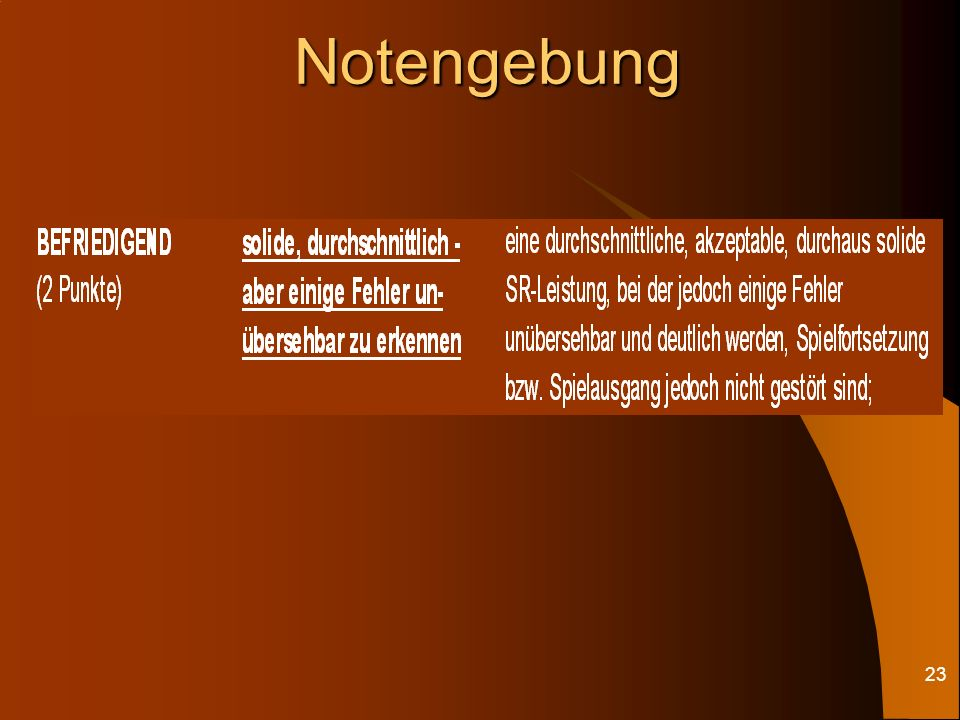22Notengebung