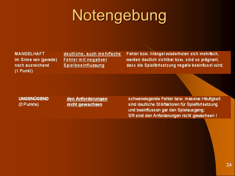 23Notengebung