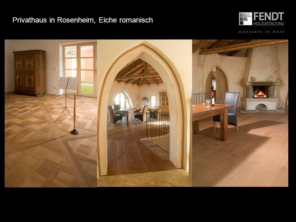 Privathaus in Rosenheim, Eiche romanisch