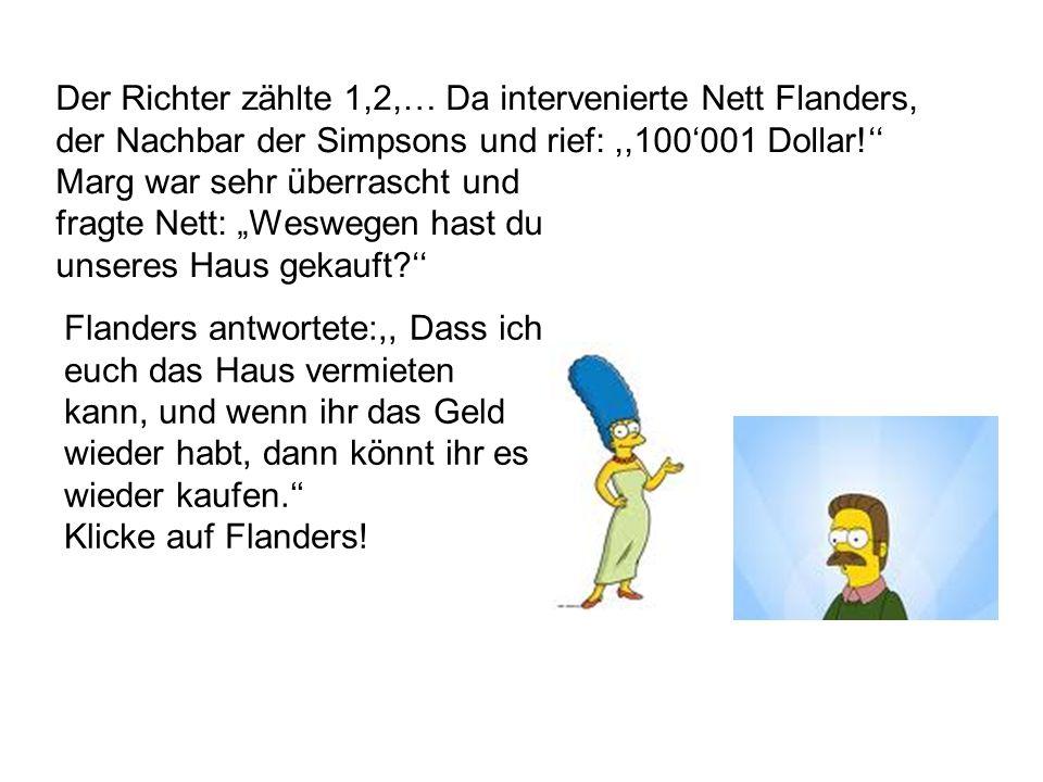 Das ist nicht Homer. Probier es noch einmal!Probier es noch einmal