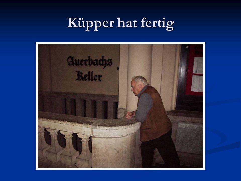 Küpper hat fertig