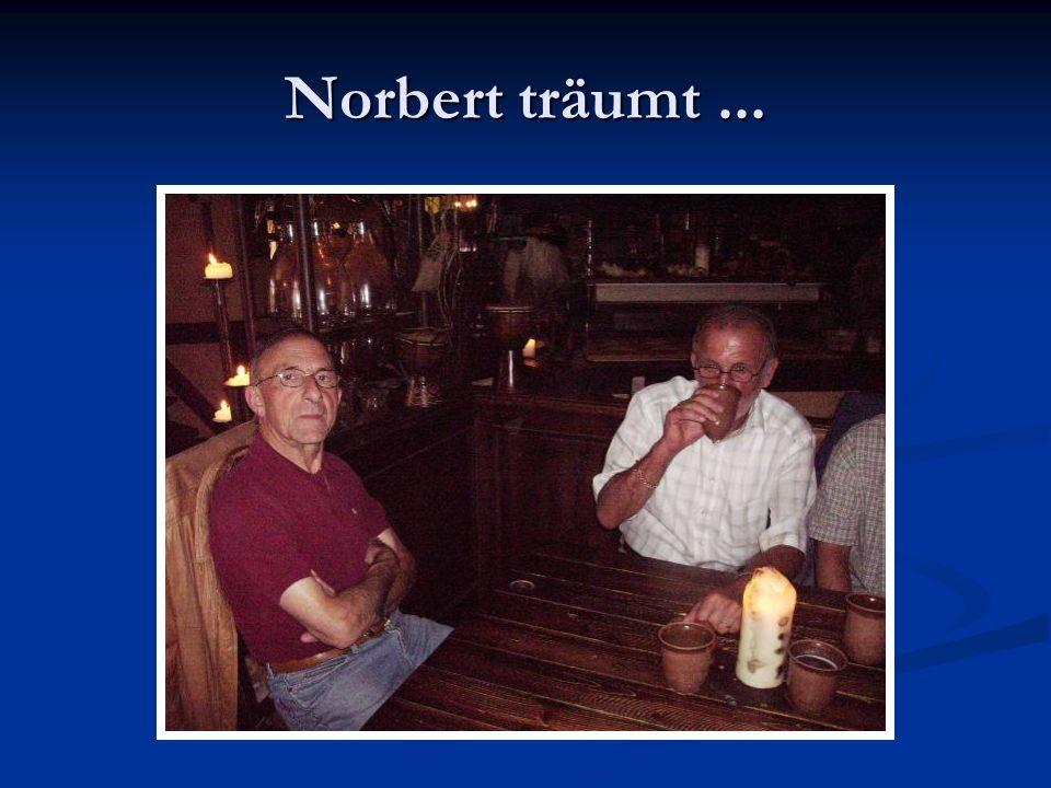 Norbert träumt...