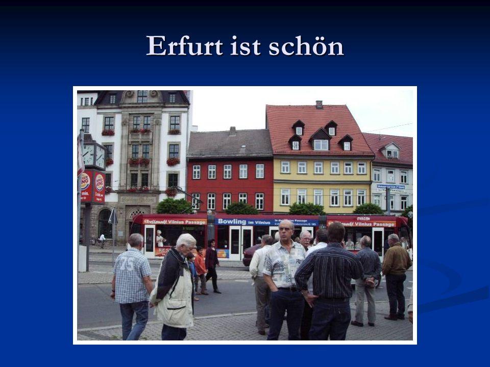 Erfurt ist schön
