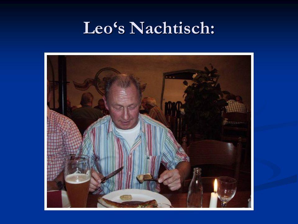 Leos Nachtisch:
