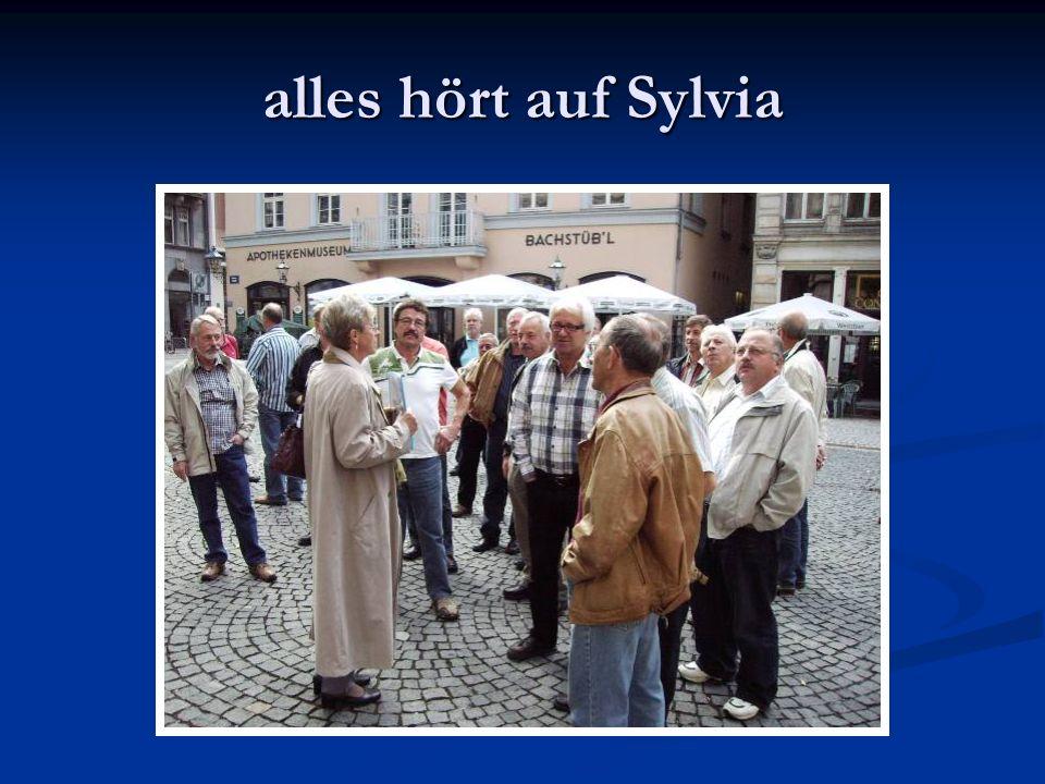 alles hört auf Sylvia