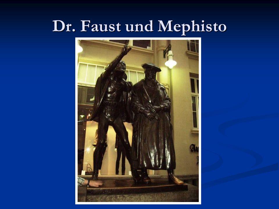 Dr. Faust und Mephisto