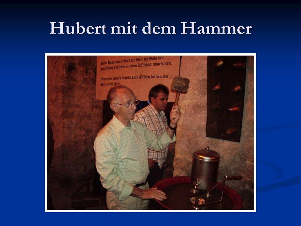Hubert mit dem Hammer