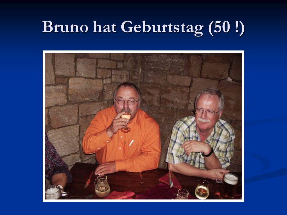 Bruno hat Geburtstag (50 !)