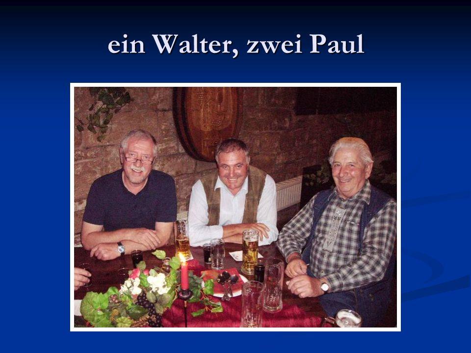 ein Walter, zwei Paul
