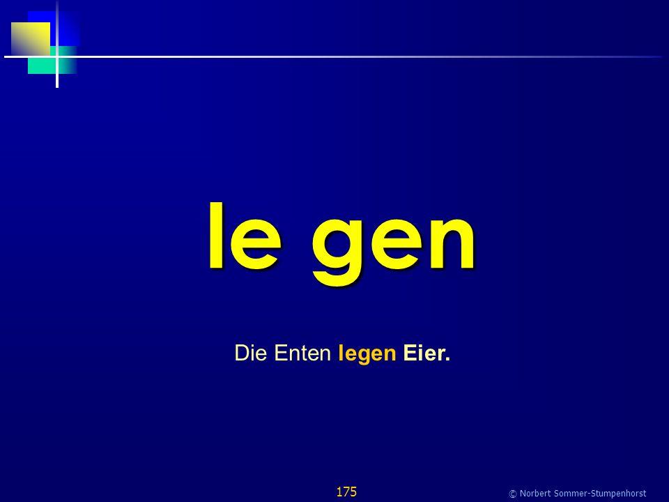 175 © Norbert Sommer-Stumpenhorst le gen Die Enten legen Eier.