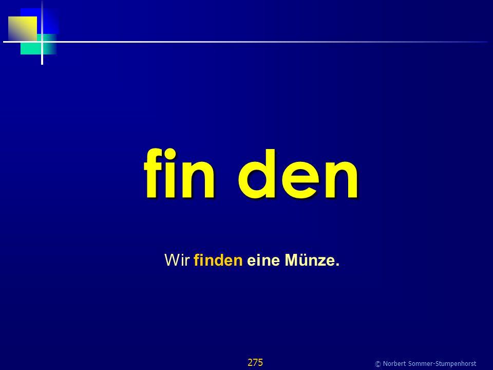 275 © Norbert Sommer-Stumpenhorst fin den Wir finden eine Münze.