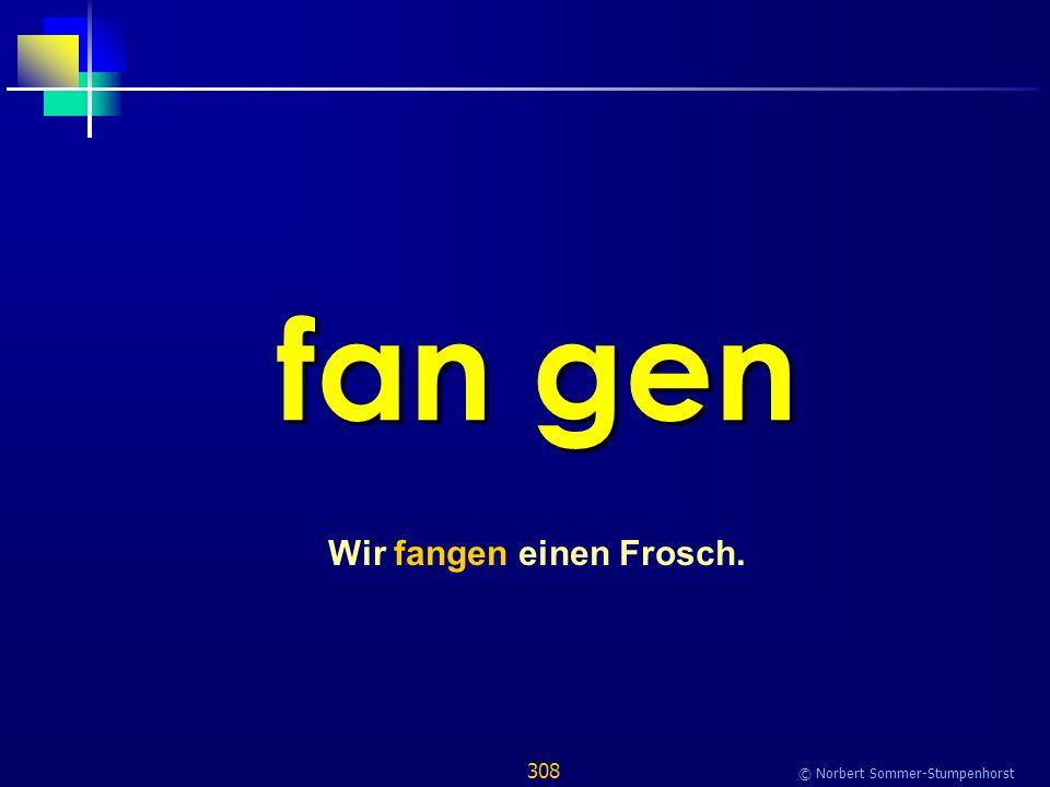 308 © Norbert Sommer-Stumpenhorst fan gen Wir fangen einen Frosch.