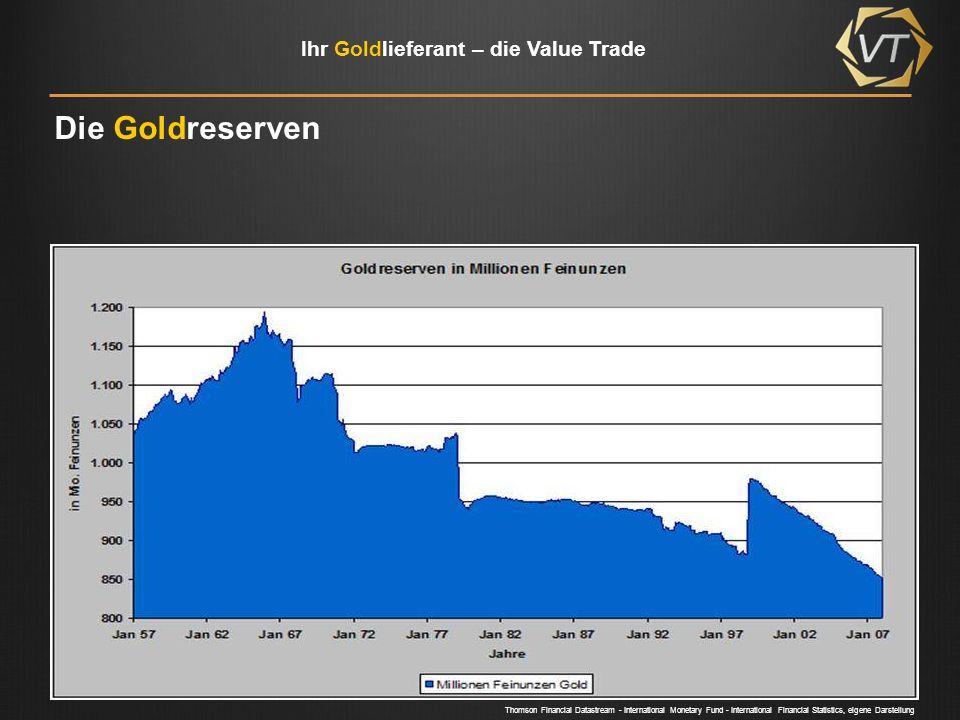 Ihr Goldlieferant – die Value Trade Die Presse Bereits 30.08.2006 Heute, 22.08.2011