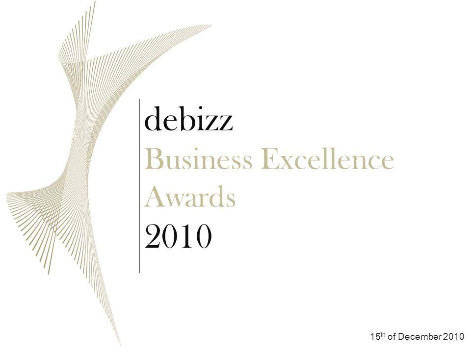 Sponsoring Pakete Registierung Verlauf Allgemeine Präsentation debizz Business Excellence Awards 2010 Registierung Schimbă în Switch to Teilnahmegebühr 150 Euro + MwSt.