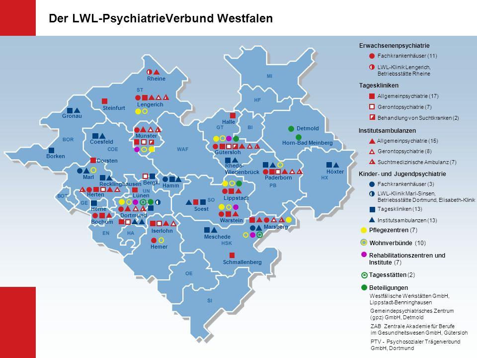 Der LWL-PsychiatrieVerbund Westfalen Lengerich Münster Gütersloh Paderborn Lippstadt Herten Bochum Hemer Warstein Marsberg Fachkrankenhäuser (11) Dort