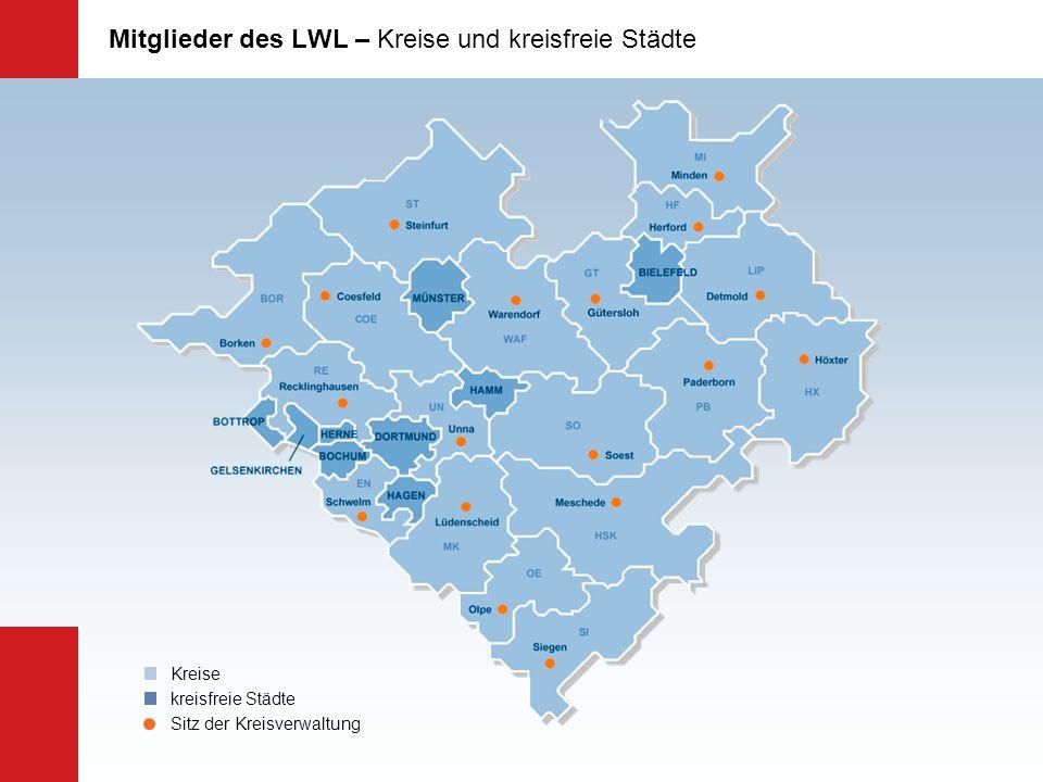 Maßregelvollzug 5 LWL-Kliniken für forensische Psychiatrie: Lippstadt, Marsberg, Stemwede, Dortmund, Rheine, Herne * LWL-Maßregelvollzugsklinik Herne Inbetriebnahme 2011