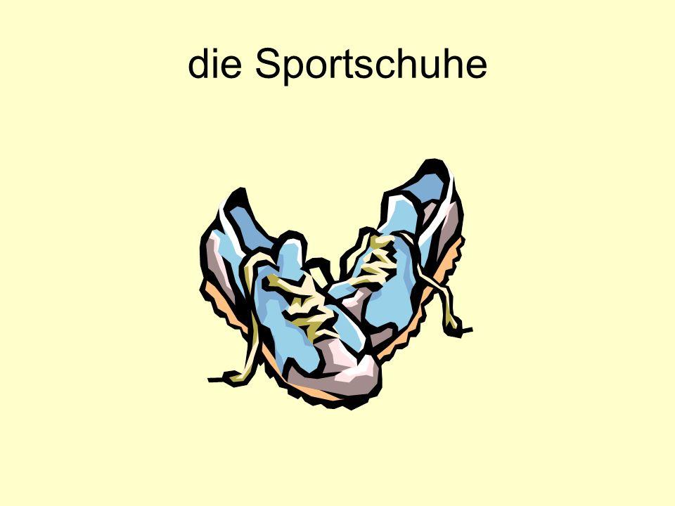 die Sportschuhe
