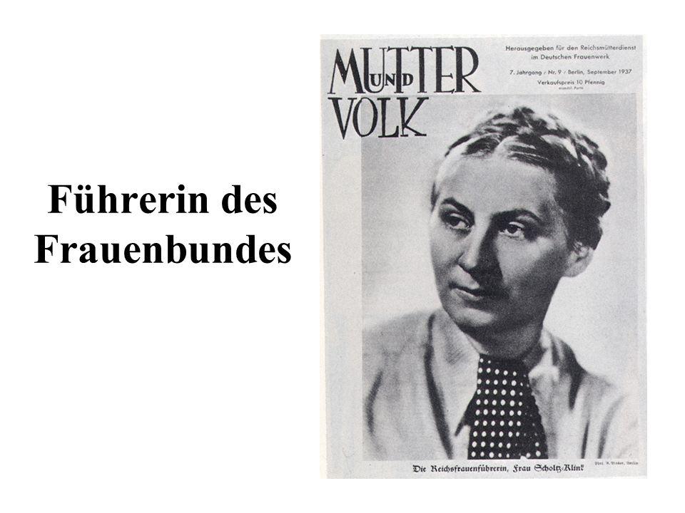 Führerin des Frauenbundes