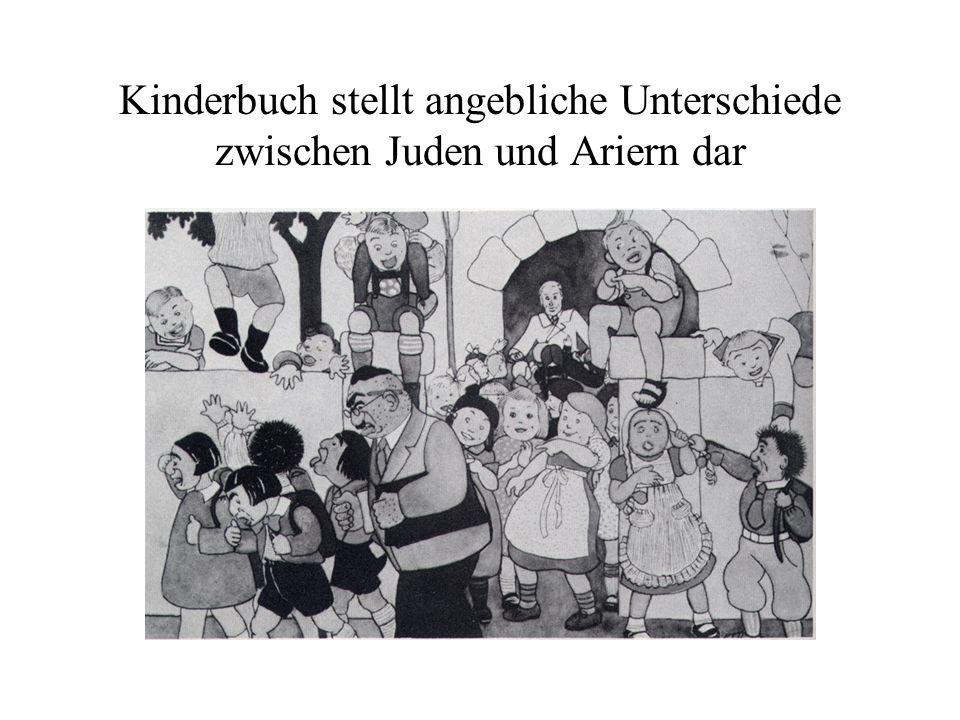 Kinderbuch stellt angebliche Unterschiede zwischen Juden und Ariern dar