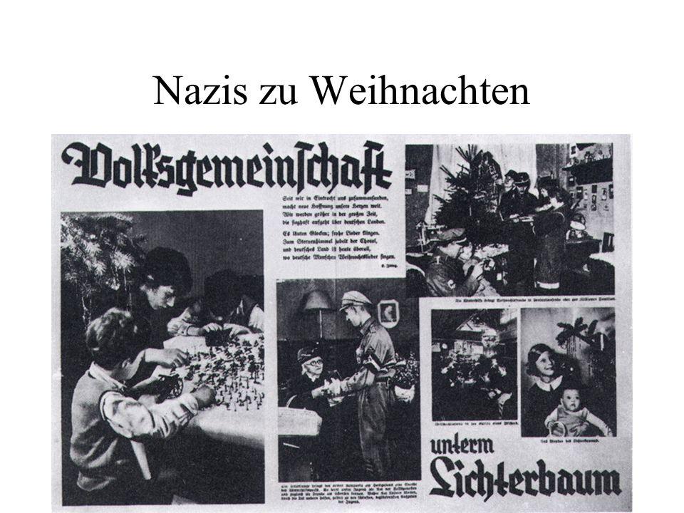 Nazis zu Weihnachten