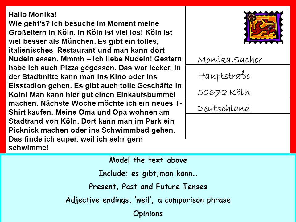 Monika Sacher Hauptstraße 50672 Köln Deutschland Hallo Monika.