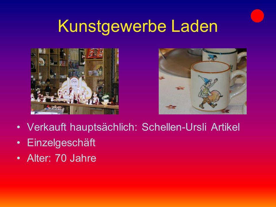 Galerie EULE ART Teuerstes Bild: 6900 Fr. der Maler heisst Alois Carigiet, ein Bündner Maler Das Geschäft gibt es seit letztem Jahr