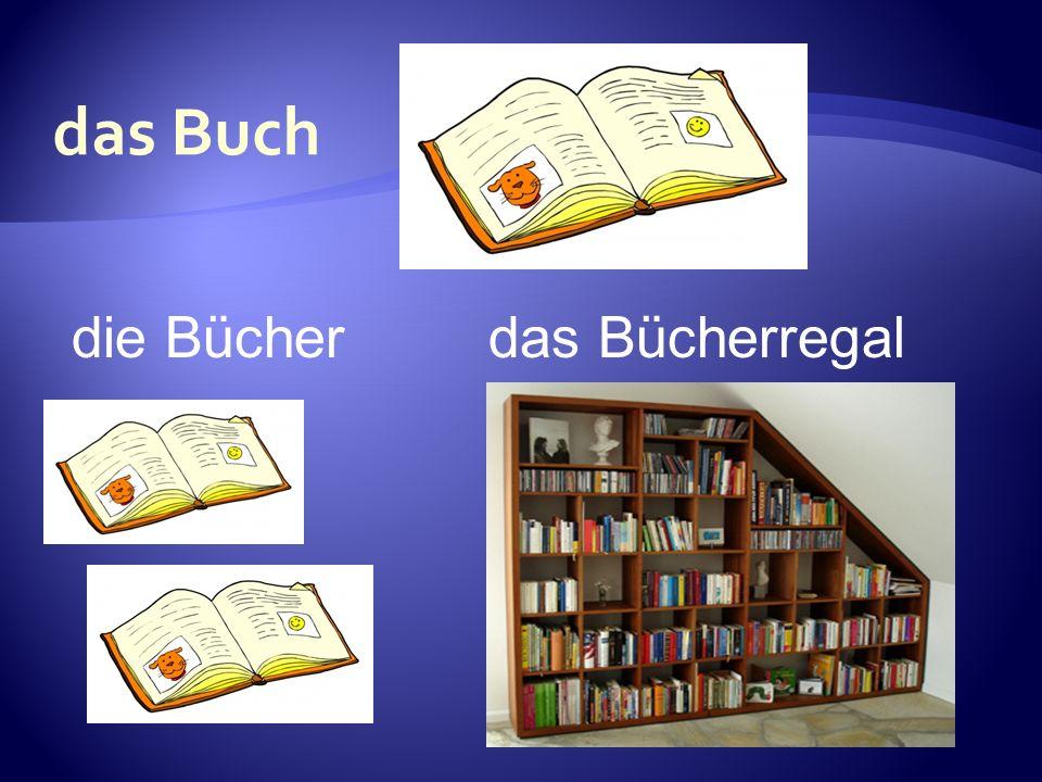die Bücherdas Bücherregal