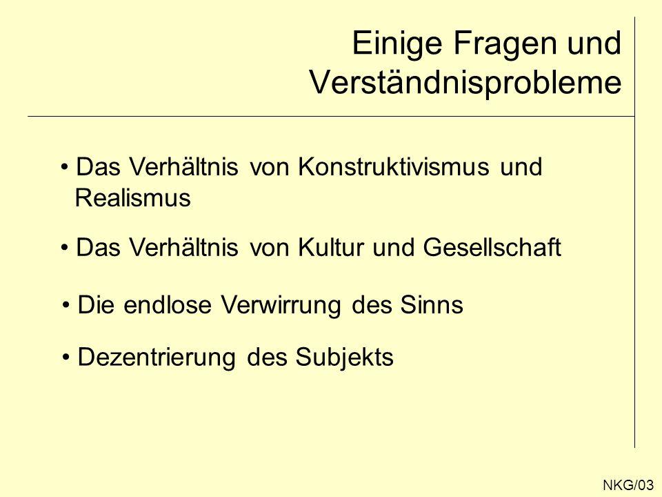There is nothing outside the text.NKG/04 Die Wirklichkeit ist diskursiv (JÄGER).
