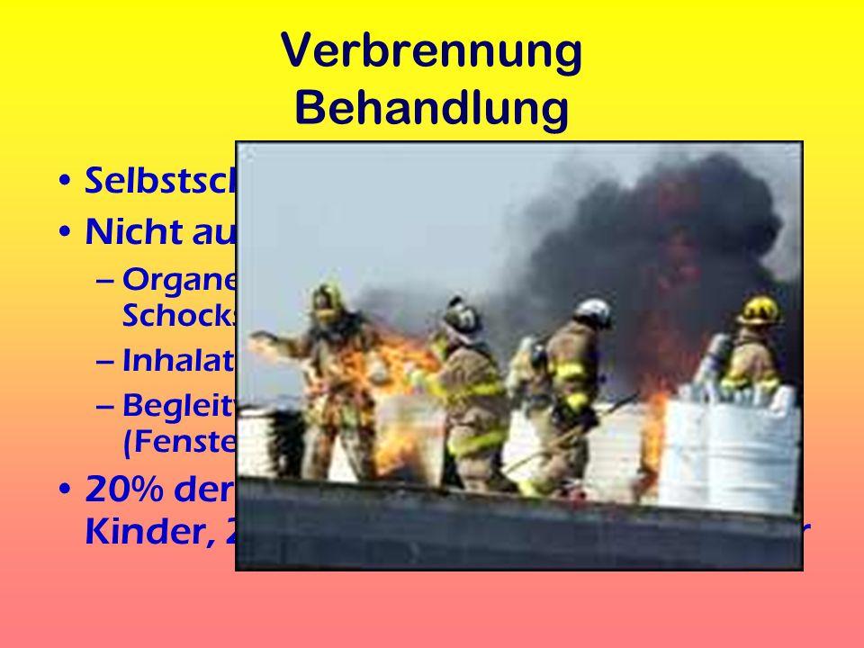 Rauchgasvergiftung Giftstoffe, z.B.