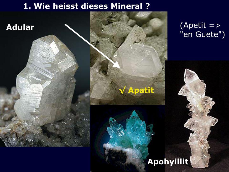 Adular Apatit Apohyillit (Apetit =>