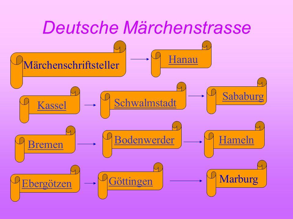 Deutsche Märchenschriftsteller Wilhelm Hauff Brüder Grimm Heinrich Hoffmann Wilhelm Busch