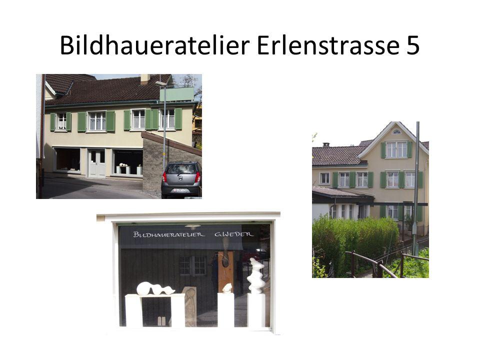 Bildhaueratelier Erlenstrasse 5