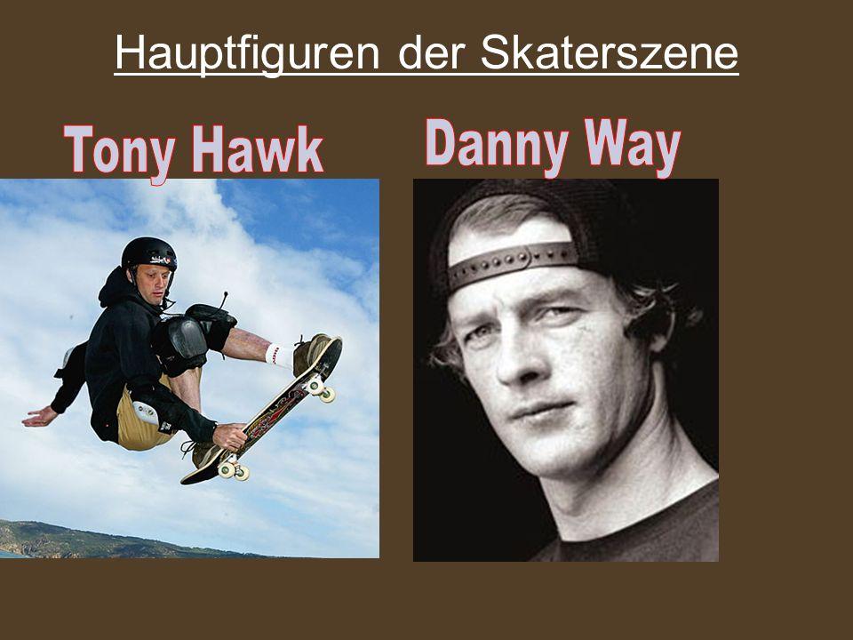 Hauptfiguren der Skaterszene